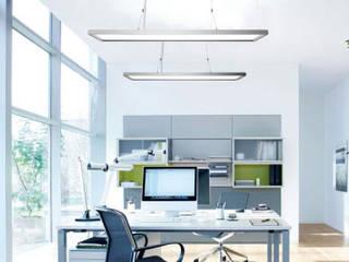Anwendungsbereich Büro (Pendelleuchte PL-03):  Bürogebäude von LEDAXO GmbH & Co. KG