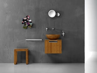 Lineabeta BathroomStorage Bambu Wood effect