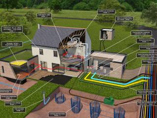 Illustration 3D en architecture par Bureau des Perspectives 3D