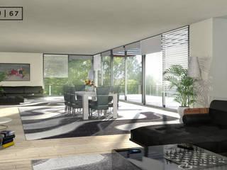 Illustration 3D en architecture d'intérieure par Bureau des Perspectives 3D