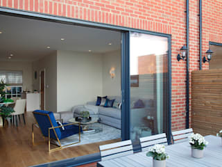 Finchley Central Casas estilo moderno: ideas, arquitectura e imágenes de New Images Architects Moderno