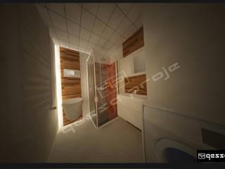 Modern style bathrooms by gessaproje Modern