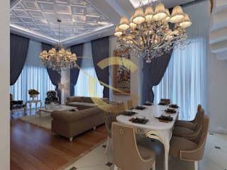 Dining room by Grand Office , Classic