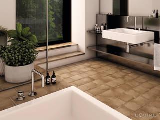 Phòng tắm phong cách Địa Trung Hải bởi Equipe Ceramicas Địa Trung Hải