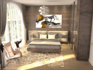 Örümcek Mimarlık – Kocaeli'de Villa Çalışmamız:  tarz Küçük Yatak Odası