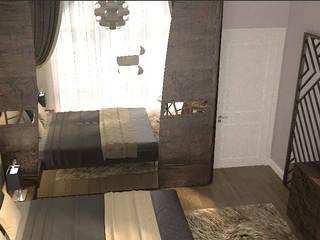 NDA CONCEPT – Kocaeli'de Villa Çalışmamız:  tarz Küçük Yatak Odası, Modern