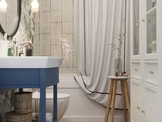 Ванная в Химках: Ванные комнаты в . Автор – 3D GROUP,