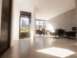 Bosque Residencial Salones modernos de Noroeste Arquitectos Moderno