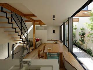โดย 株式会社Fit建築設計事務所 โมเดิร์น