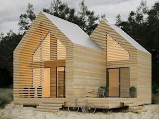 Wooden houses by ENNA DECORATİON, Modern