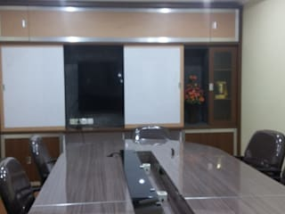 Interior Ruang Rapat MODE KARYA Study/officeAccessories & decoration Kayu Wood effect