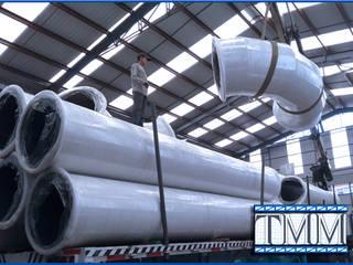 Pailería:  de estilo industrial por Transformaciones Metalicas y Manufacturas A y S, S.de R. L. de C. V., Industrial
