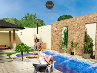 Proyecto Nuevo México de Vintark arquitectura Mediterráneo