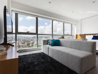 Salas / recibidores de estilo  por 0E1 Arquitetos, Moderno
