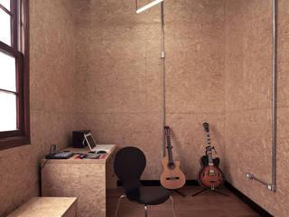 Oficinas de estilo  por 0E1 Arquitetos, Moderno