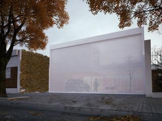 Casas unifamiliares de estilo  por 0E1 Arquitetos, Moderno