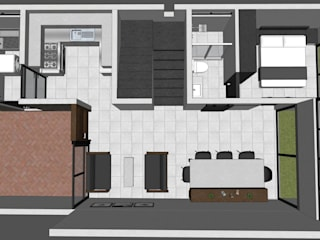 Casa ST-1 Casas minimalistas de Ipsum Nova Minimalista