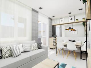 Comedores de estilo  por Aline Mozzer Arquitetura, Moderno