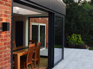 Glass Extension:  Houses by Studio Werc Architects