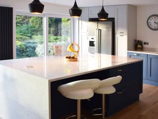Glass Extension:  Kitchen by Studio Werc Architects