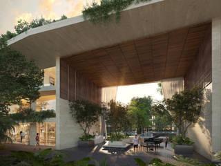 Mistiq Tulum: Condominios de estilo  por Studio Uno Arquitectura