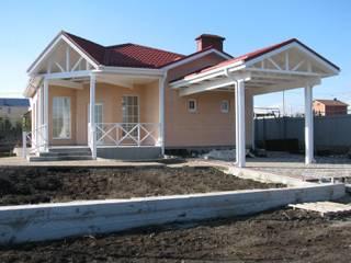 Terrace house by Центр Каркасных Технологий