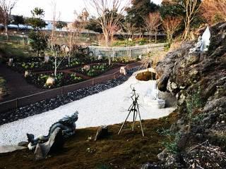 仏の集う庭 アジア風 庭 の 富士西麓ガーデン 和風