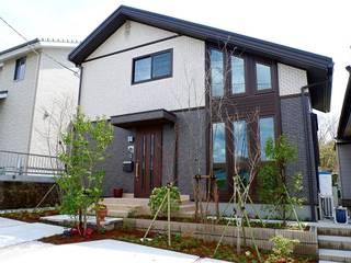 小スペースでも四季を感じる落葉樹の庭 カントリーな 庭 の 富士西麓ガーデン カントリー
