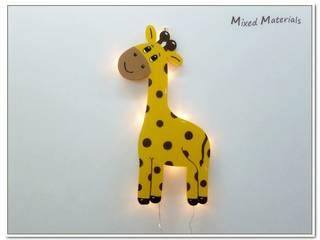 Kinder - Schlummerlampe : modern  von Mixed Materials,Modern