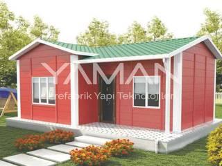 Prefabrik Ev (Yaman Prefabrik) – 40 m2 Prefabrik Ev:  tarz