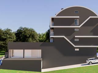 Bloco Habitacional Casas modernas por 3D ART - Image|Film|Print Moderno