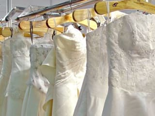 Top 5 Reasons To Use Wedding Dress Cleaning Service:   by Pennywise Cleaners ,