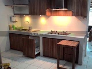 luxe interior KitchenCabinets & shelves Wood Wood effect