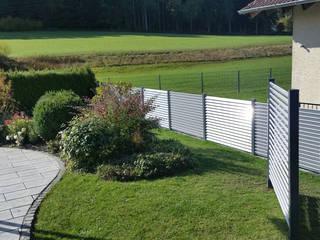 Sichtschutz GEWA Balkonsysteme GmbH Moderner Garten Aluminium/Zink Metallic/Silber