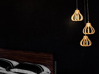 Its all about Black Minimalist bedroom by shades - design studio by shweta Minimalist