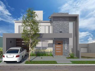 Ampliacion Vivienda Casas modernas: Ideas, imágenes y decoración de VI Arquitectura & Dis. Interior Moderno