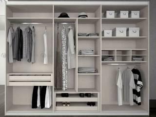 Decordesign Interiores Vestidores y closetsArmarios y cómodas Tablero DM Blanco