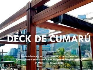 DECKS PERGOLAS MONTERRREY - SALTILLO:  de estilo  por Decks y P´ergolas Monterrey