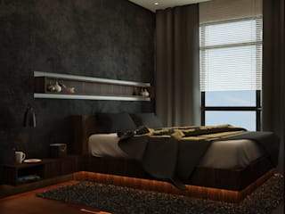 Apartment Room by Ruang Sketsa Oleh Tatami design