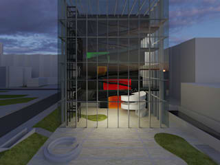 CREATIVE MUSIC & SOUND CENTER FOR YOUTH, INTERNATIONAL COMPETITION di DELISABATINI architetti Industrial