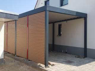 Metallcarport / Stahlcarport / Carport individuell und modern Carport-Schmiede GmbH & Co. KG - Hersteller für Metallcarports und Stahlcarports auf Maß Carport Metall