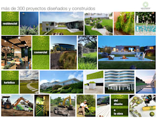 Jardines modernos: Ideas, imágenes y decoración de NATURHABITAT Moderno