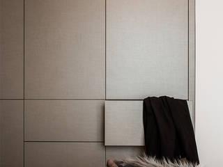 Vestidores de estilo  por KODO projekty i realizacje wnętrz