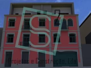Alçado Principal:   por S Ao Quadrado, Projetos e Construção, Lda