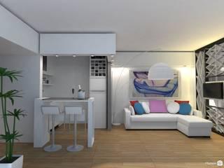Living room by Arquimundo 3g - Diseño de Interiores - Ciudad de Buenos Aires,
