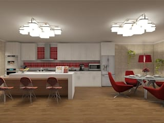 Kitchen (contemporary style) by 'Design studio S-8' Minimalist