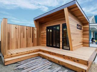 「小屋」のあるライフスタイル オリジナルな 家 の オレンジハウス オリジナル