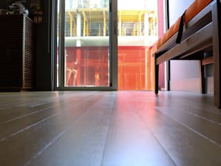 Hardwood Floor Refinishing:  Kitchen by David's Hardwood Flooring