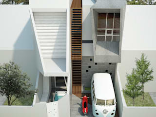 Modern houses by midun and partners architect Modern