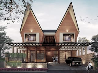 Asian style houses by midun and partners architect Asian